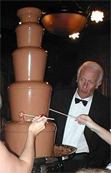 Cascading Chocolate Fountains