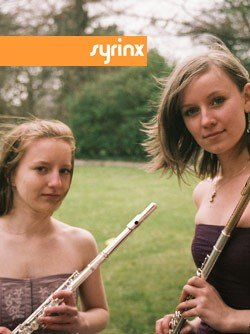 Syrinx Brochure Cover (Anna Marchant and Catherine Smith)