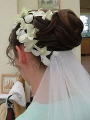 Image of bride at welsh wedding