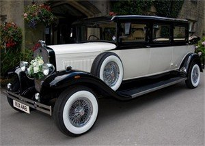 Front of a Bramwith Landaulette Limousine