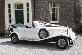 Classic Beauford Wedding Car