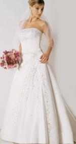 Stunning bridal gown from Carol Ann Bridal Wear in West Wales
