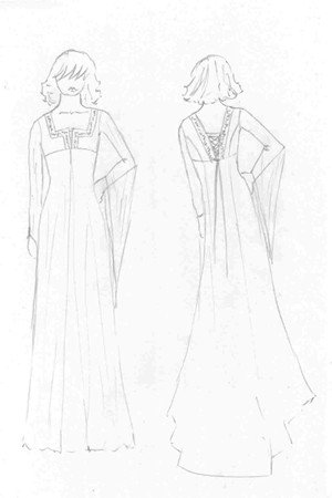 Lynne Morgan Wedding Dress design