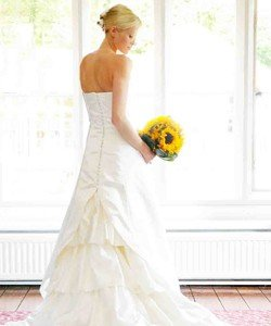 Custom made Lynne Morgan Wedding Dress